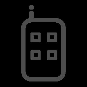 Handheld Button Remote