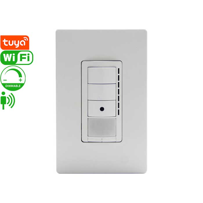 u371 Tuya Smart PIR Sensor Dmmer Switch