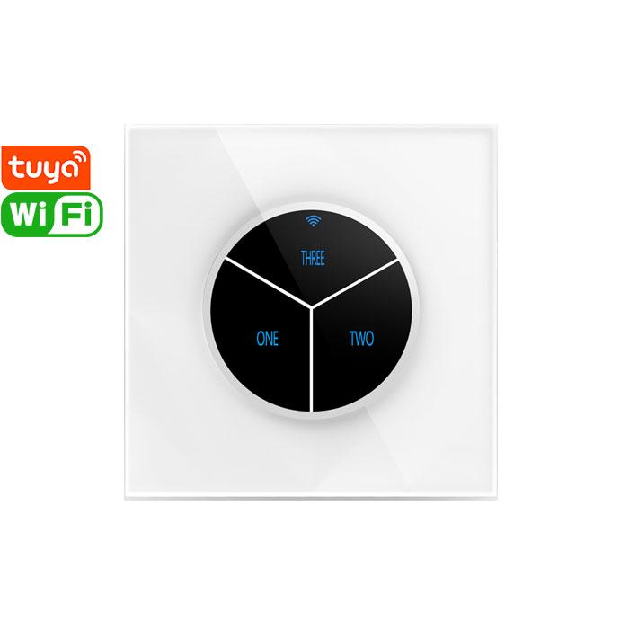L823 Tuya Smart 3gang Wi-Fi Switch
