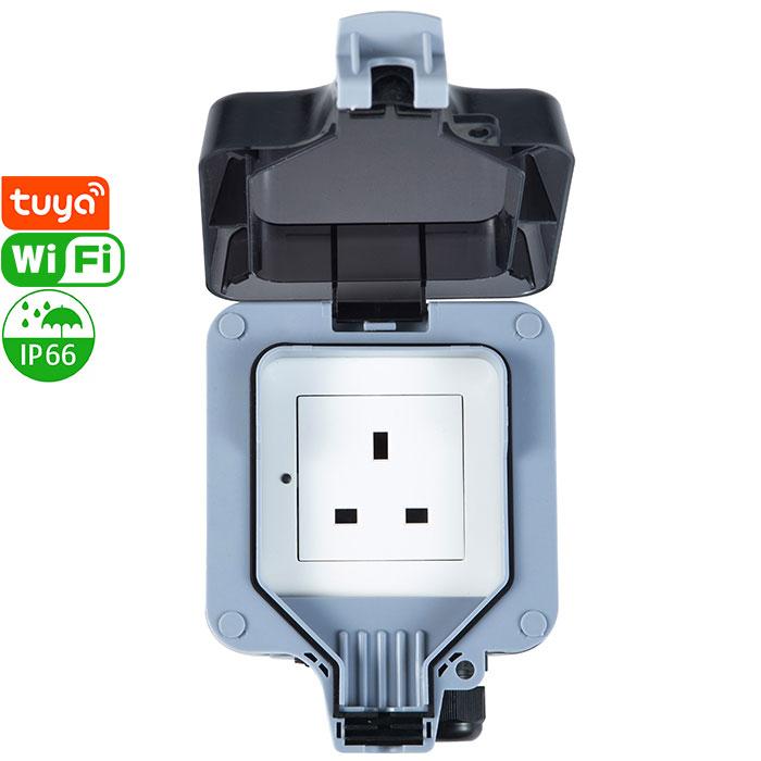 PS-17-WPB Tuya Smart Wi-Fi Socket