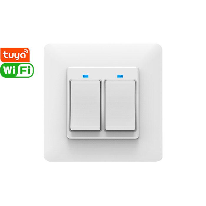 SS86-02AJAI Tuya Smart 2gang Wi-Fi Switch
