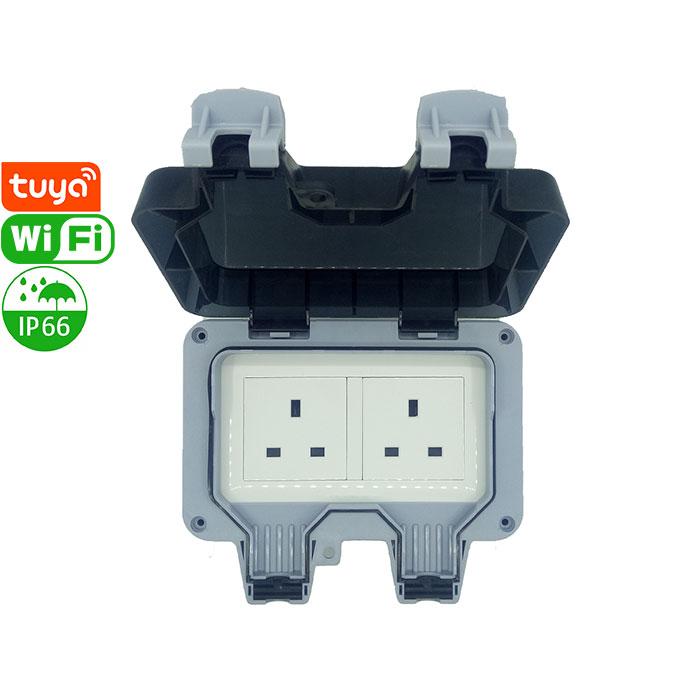 PS-18-WPB Tuya Smart Wi-Fi Socket