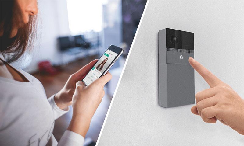 Bell 1 Tuya Smart Battery-powered Wi-Fi Doorbell