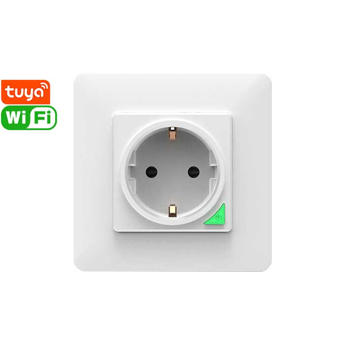 SWP86-01OG Tuya Smart Wi-Fi Wall Socket