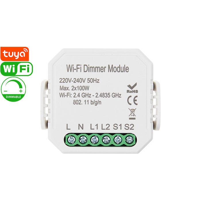 QS-WIFI-D02 Tuya Smart Wi-Fi Dimmer Module