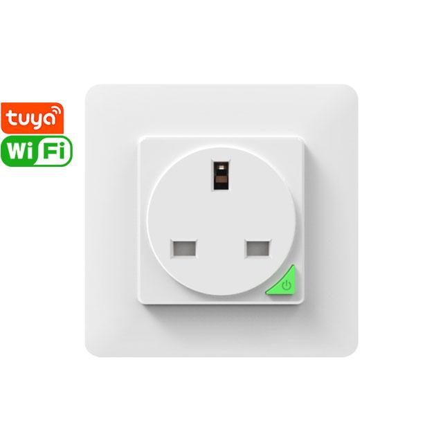 SWP86-01YG Tuya Smart Wi-Fi Wall Socket