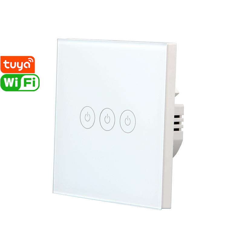 X803U Tuya Smart 3gang Wi-Fi Switch