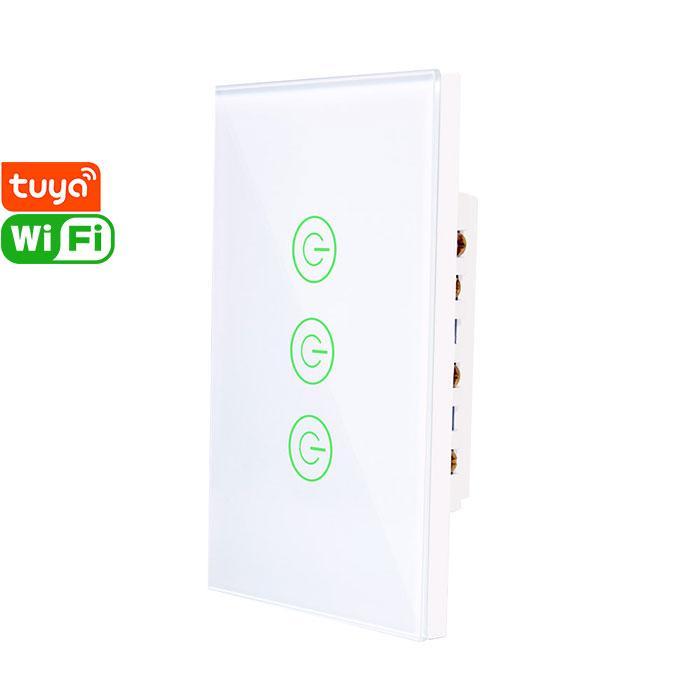 X803K Tuya Smart 3gang Wi-Fi Switch
