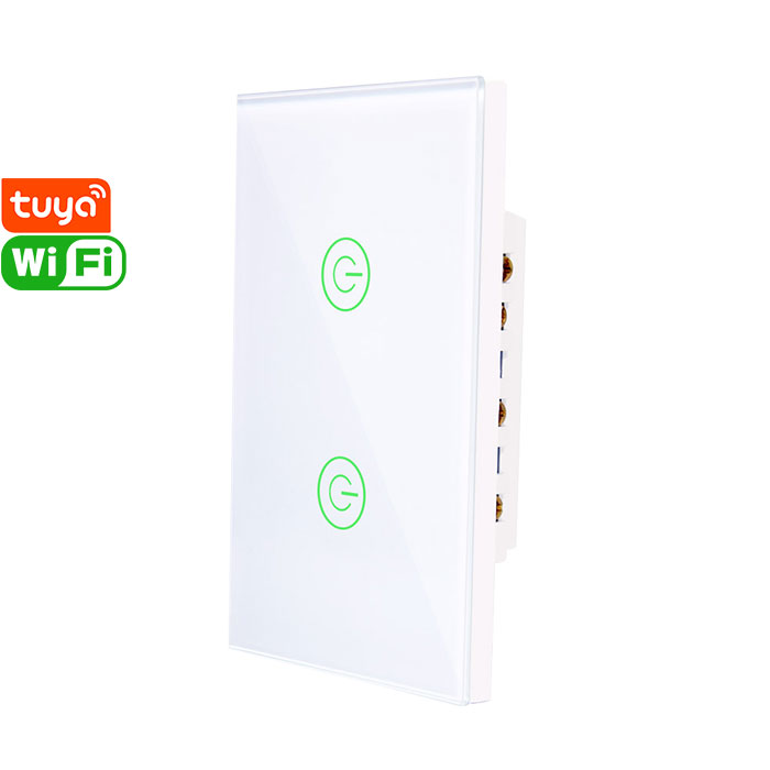 X802K Tuya Smart 2gang Wi-Fi Switch