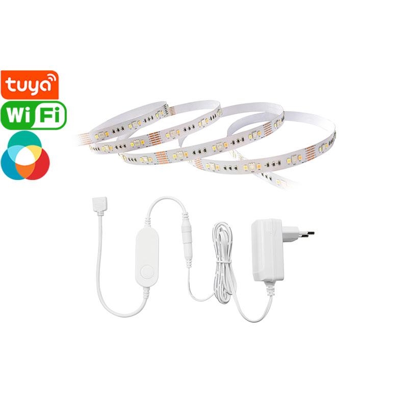 IP20 Tuya Smart Wi-Fi RGBCW LED Light Strip