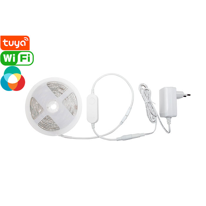 IP65 Tuya Smart Wi-Fi RGBCW LED Light Strip